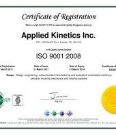 ISO 9001:2015 & Z299:1985
